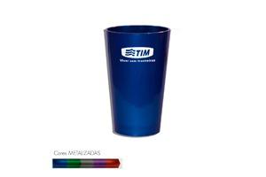 Copo Cancun Metalizado Personalizável 320ml - Plástico