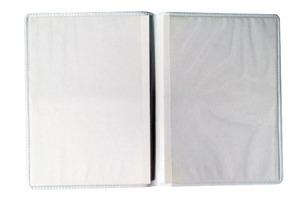 Porta Documentos Duplo Personalizável Vertifcal de Plástico - PD-49V