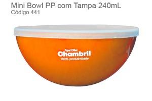 Petisqueira Personalizável Com Tampa 240ml - PT-405